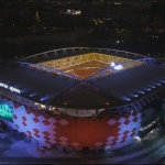 Аэросъемка стадиона «Открытие Арена»
